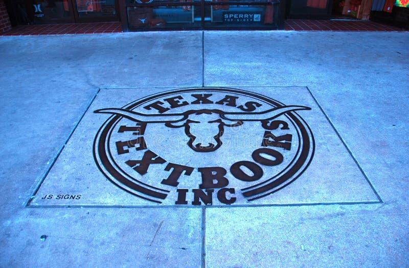 longhornu symbol Texas fotografia royalty free