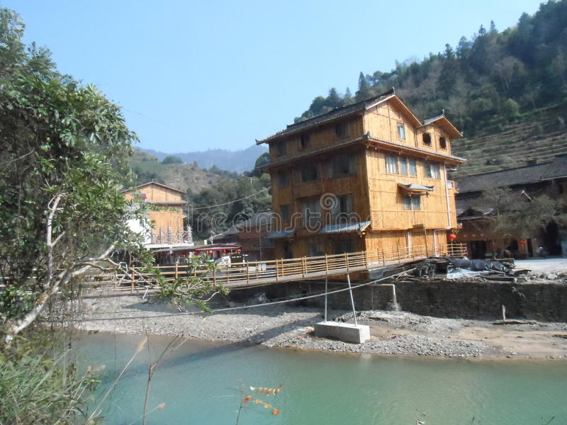Longjie-Fluss lizenzfreies stockbild