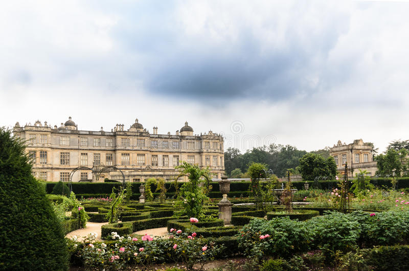 Longleat House and gardens stock images