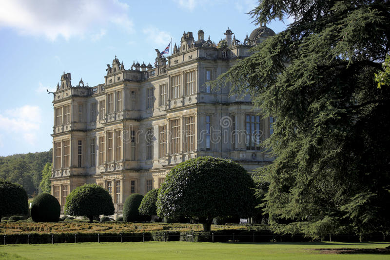 Longleat house royalty free stock photo
