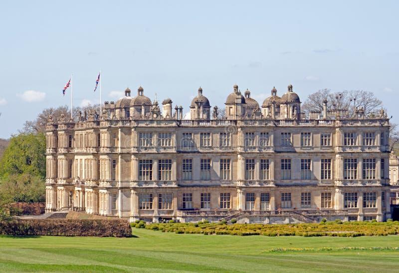 Longleat hus, England royaltyfria foton