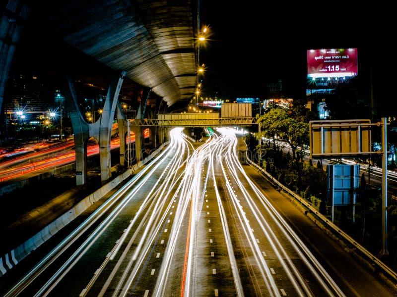 Longlight della strada fotografia stock