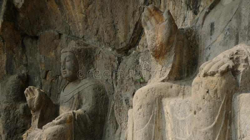 Download Longmen Grottoes stock image. Image of hand, buddhism - 13183095