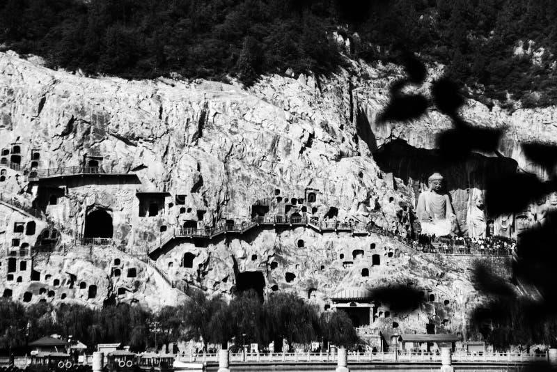 Longmen groty, Luoyang, Henan Provinceï ¼ ŒAsiaï ¼ ŒChina obrazy stock