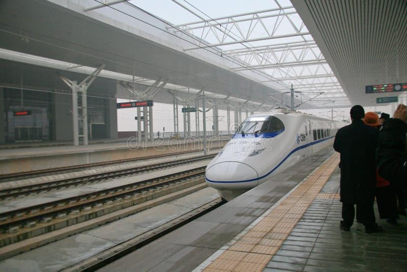 Longmen wysoka stacja kolejowa, Luoyang obraz stock