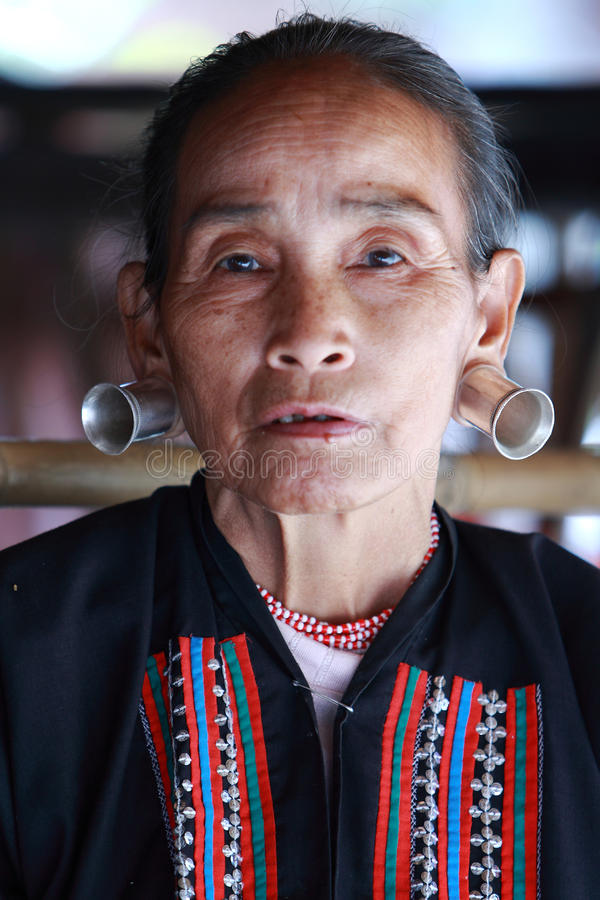 Longneck Tribe,Thailand stock photos