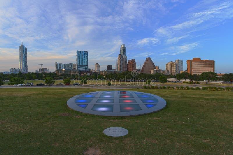 Longs centre et Austin Texas photo stock