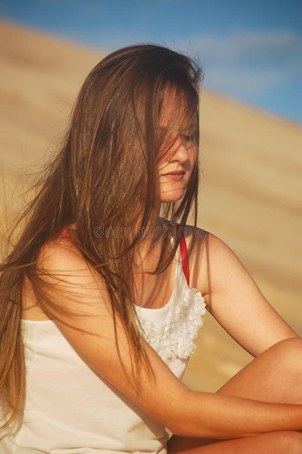 Longs cheveux images libres de droits