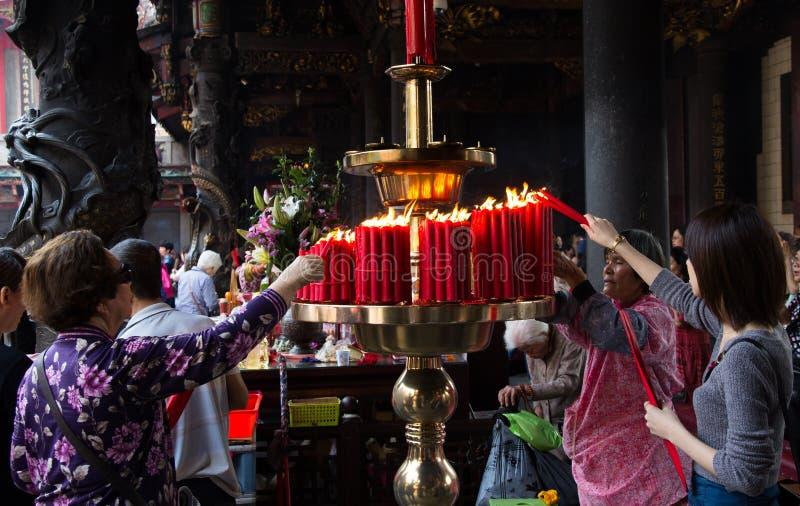 Longshan Temple стоковое изображение rf