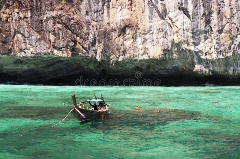 Longtail łódź obraz stock