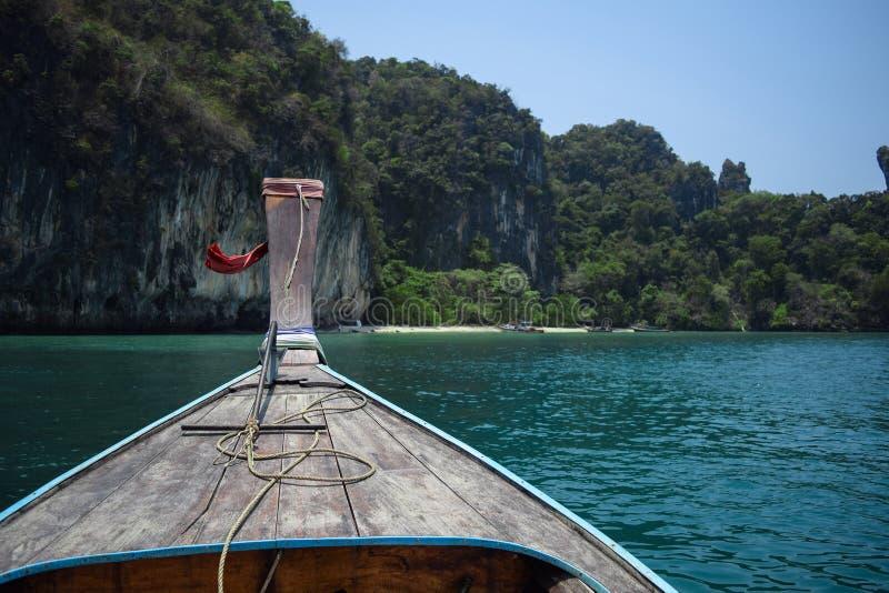 Longtail łódź obraz royalty free