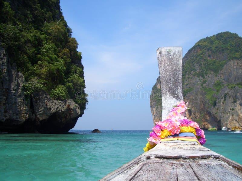 longtail 3 тайское стоковая фотография