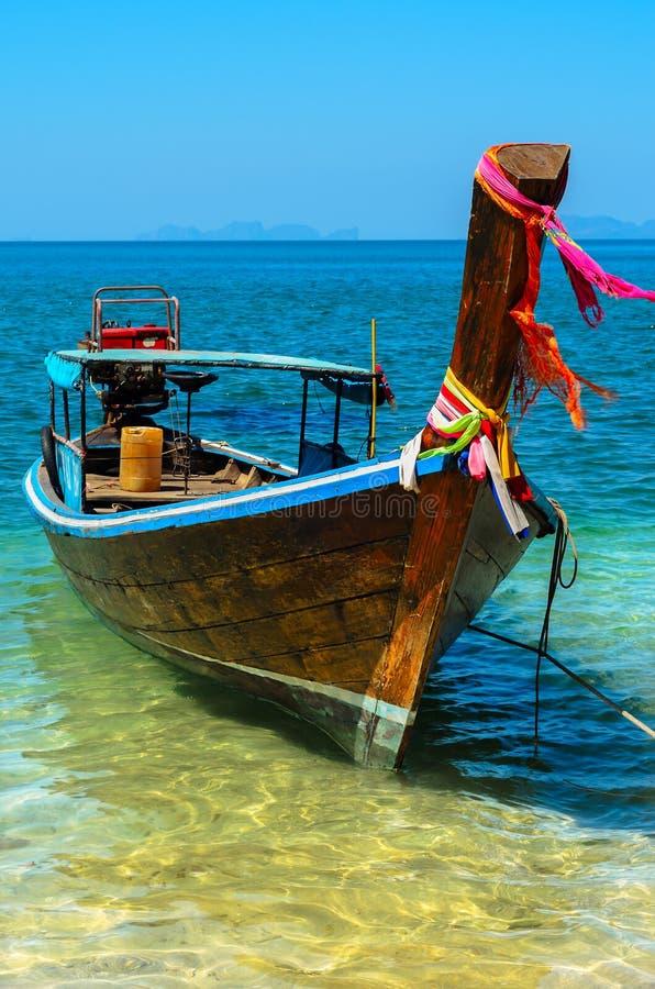 Longtail thaïlandais Baot photographie stock