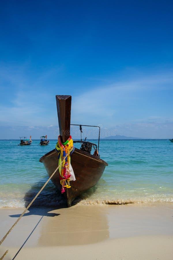 Longtailboot in Phuket stock fotografie
