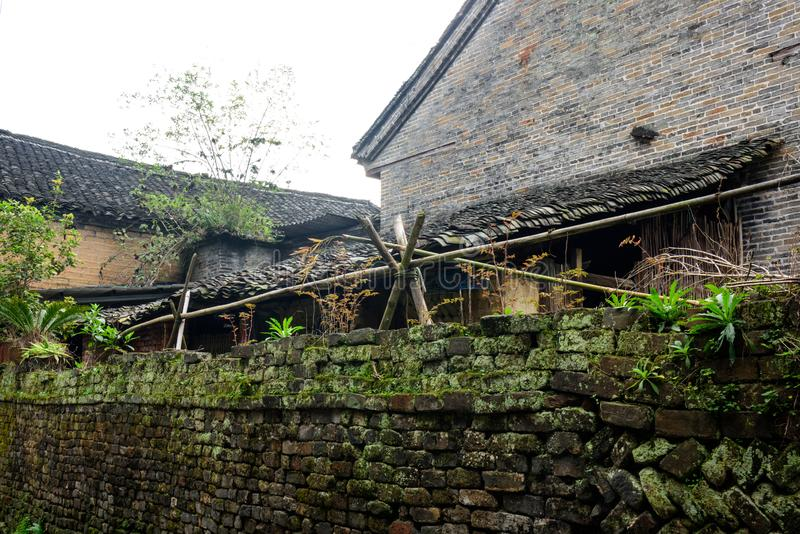 Longtan Ancient village stock photo