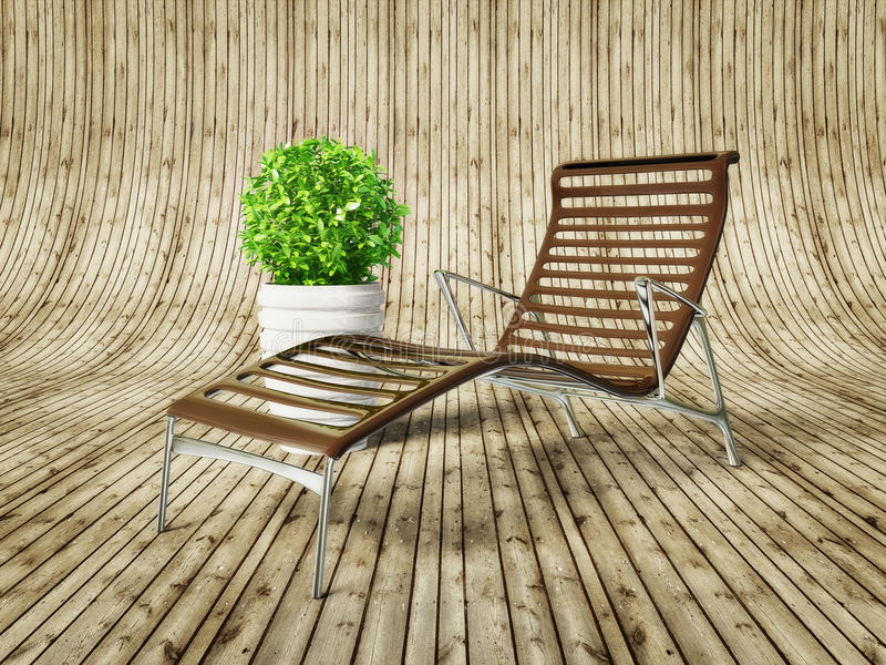 Download Longue stock illustration. Image of summer, tropical - 20976066