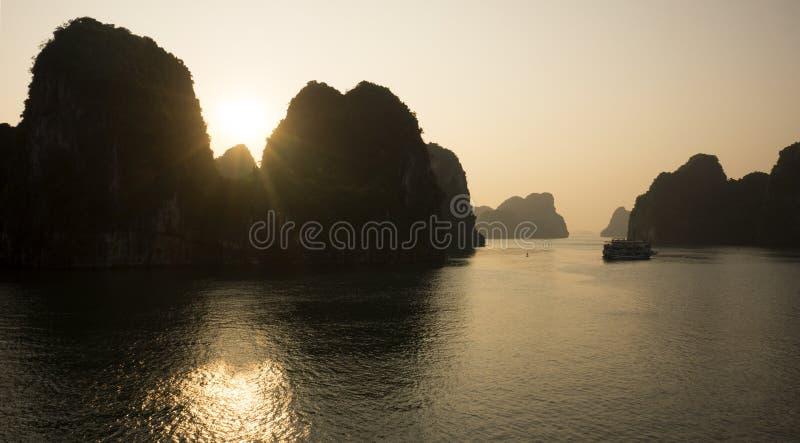 Longue baie de Bai TU photo stock