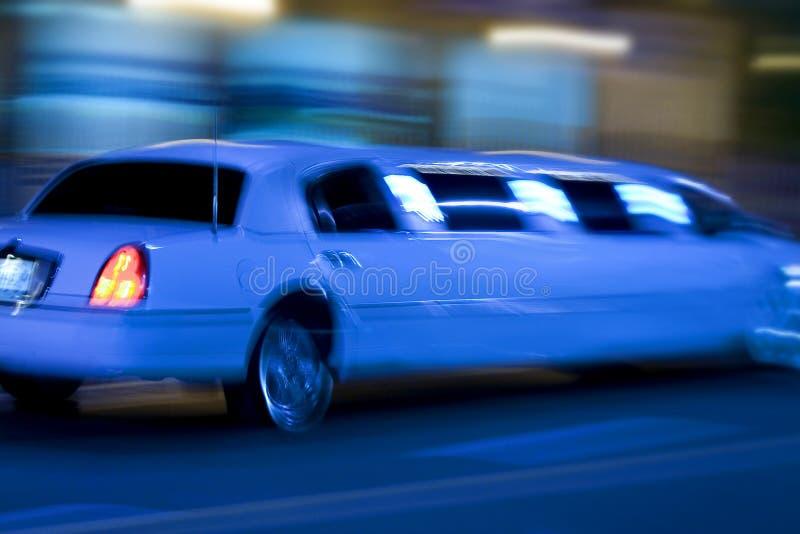 Longue limousine photo stock