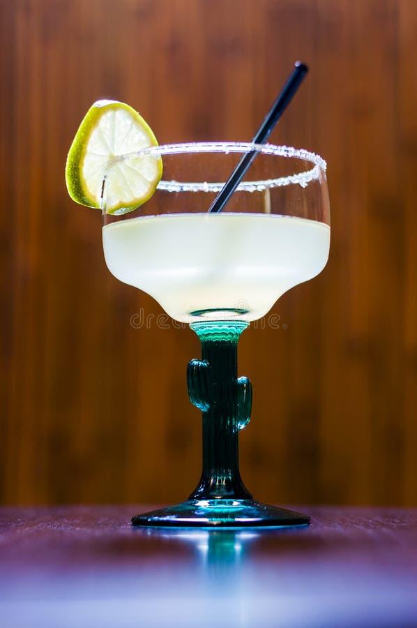Longue margarita de tequila de cocktail photographie stock libre de droits
