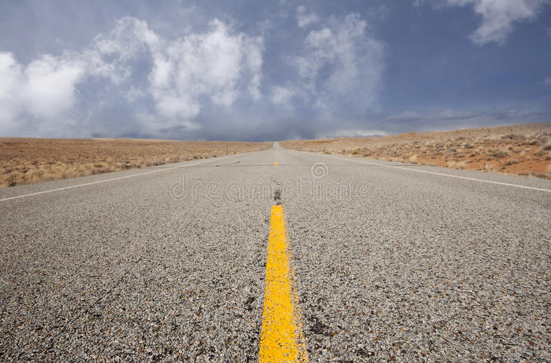 Longue route photos stock