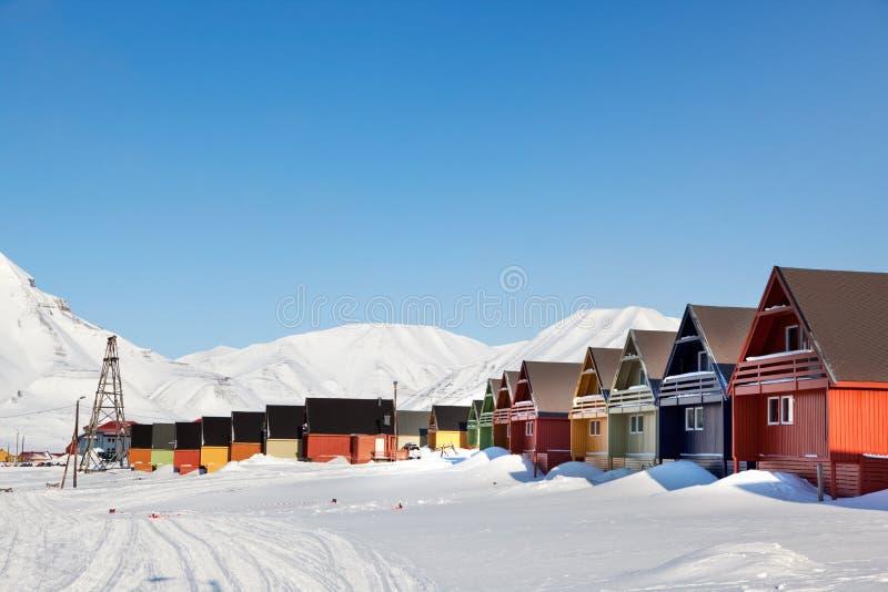 longyearbyen zdjęcia royalty free