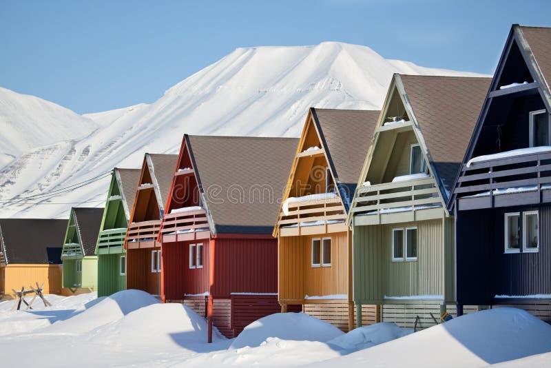 longyearbyen obrazy royalty free