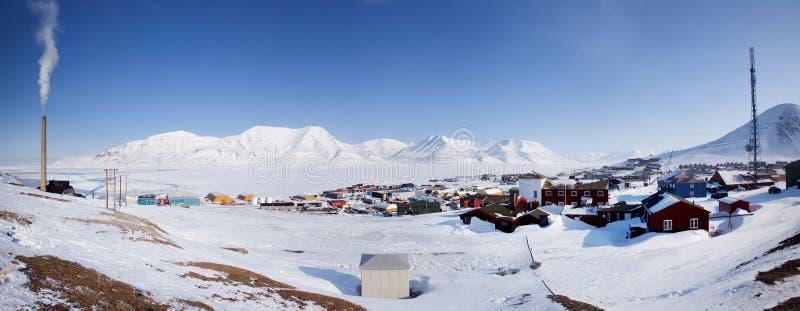 Longyearbyen stock foto's