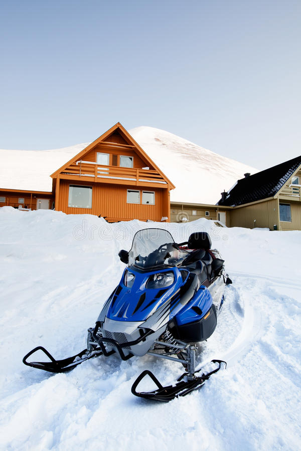 Longyearbyen royalty-vrije stock fotografie