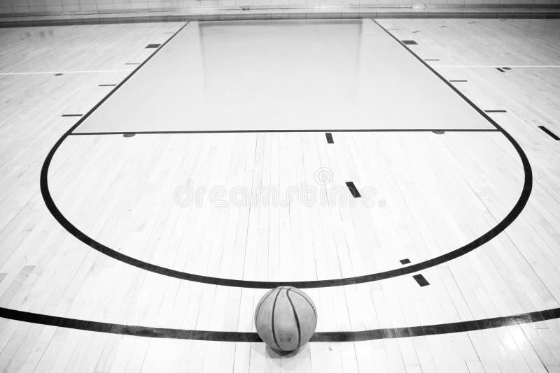 A lonly basketball