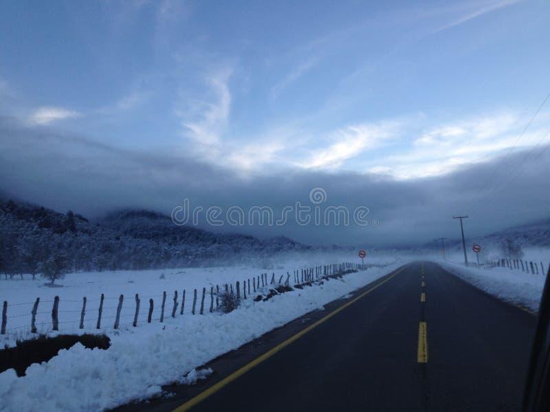 Ice sky royalty free stock photography