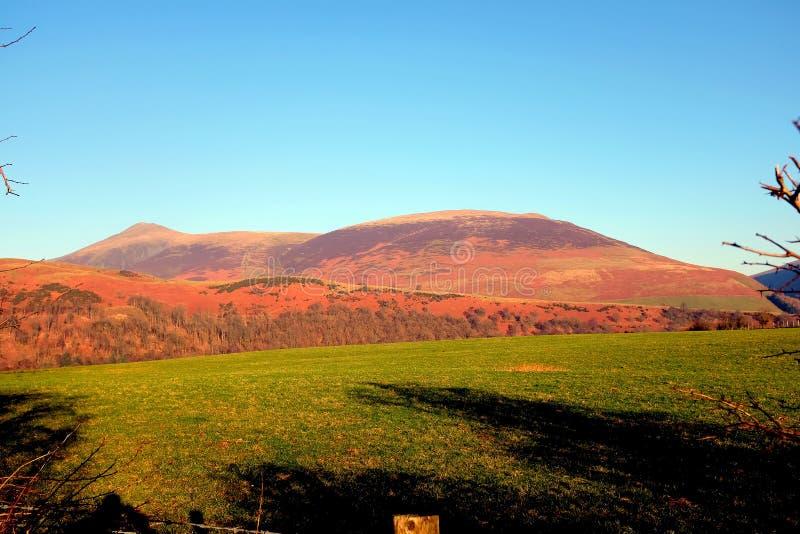 Lonscale fiel, Cumbria stockbild