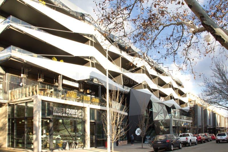 Lonsdale-Straße Canberra stockbilder