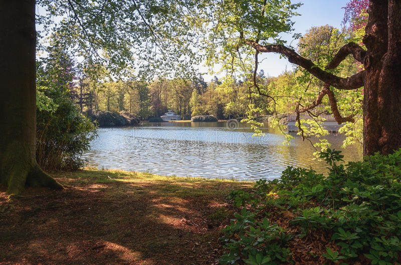 The Loo park located in Apeldoorn. In the Netherlands royalty free stock images