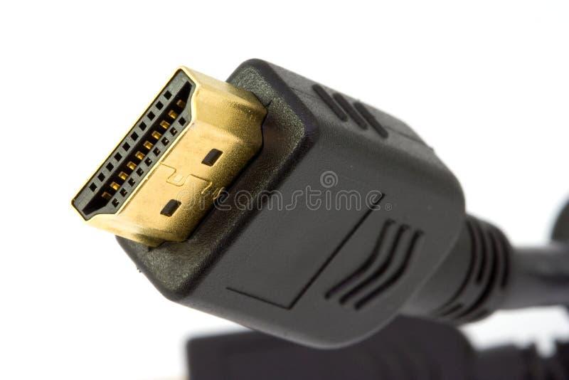 Lood HDMI stock afbeeldingen