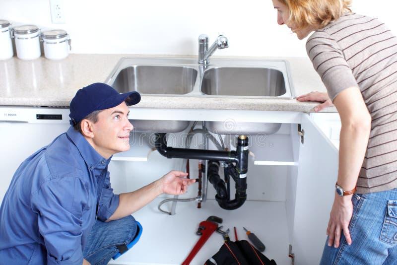 Loodgieter stock fotografie