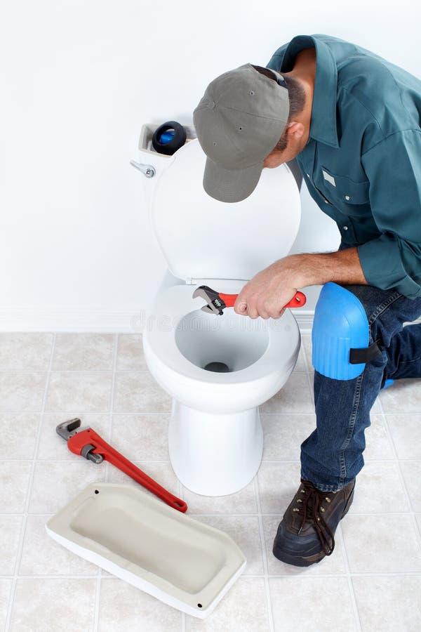 Loodgieter stock foto