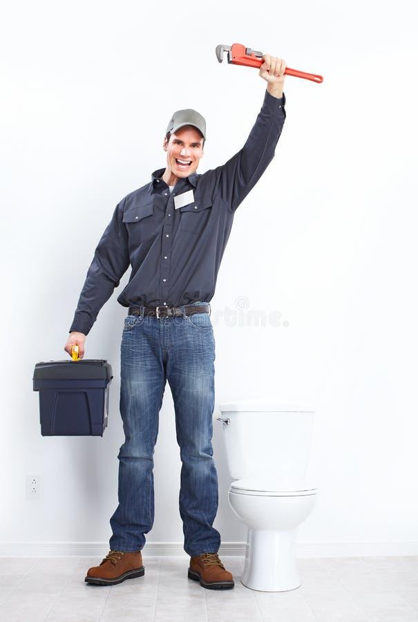 Loodgieter royalty-vrije stock afbeelding