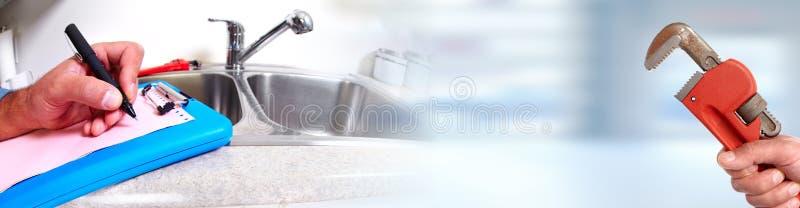 loodgieter stock afbeelding