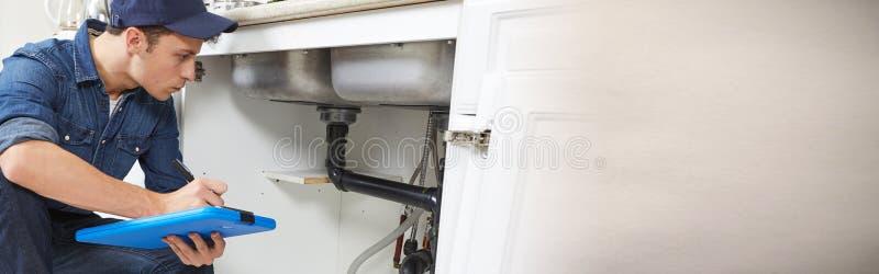loodgieter royalty-vrije stock afbeeldingen