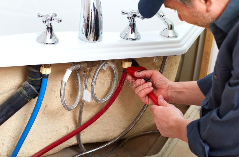 loodgieter stock foto's