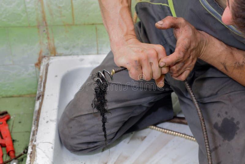 Loodgieterswerk royalty-vrije stock afbeeldingen