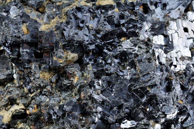 Loodglans Galenite Stock Foto