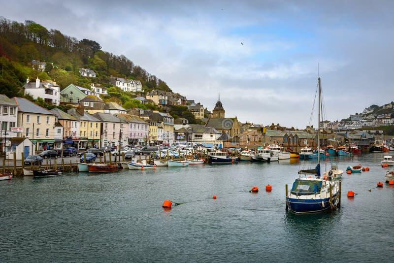 Looe Cornwall, England UK royaltyfri foto