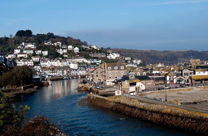 Looe, Cornwall - szenisch westlich von England stockbilder