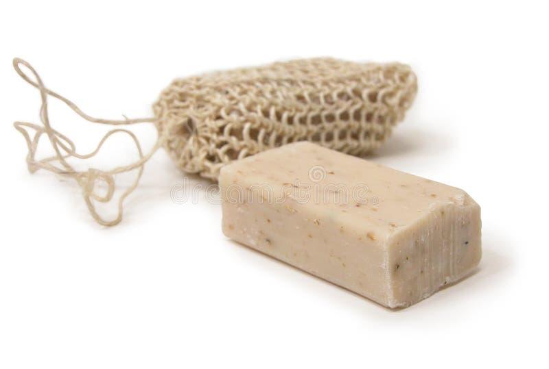 Loofah Soap royalty free stock image