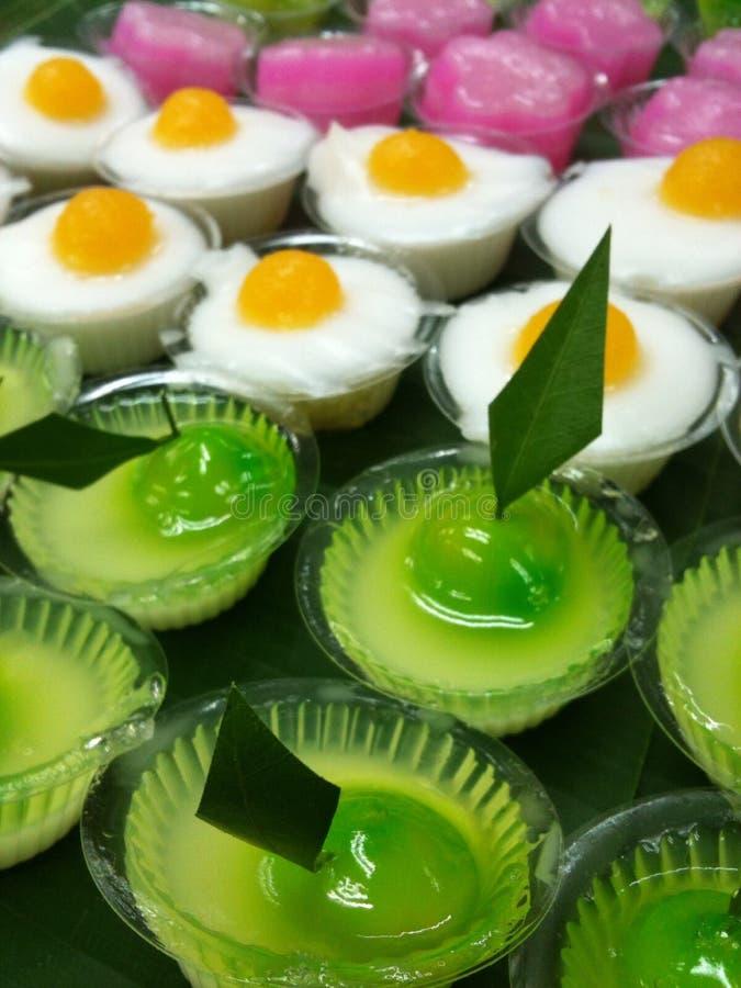 Loog-choup, thailändischer Nachtisch lizenzfreie stockfotos