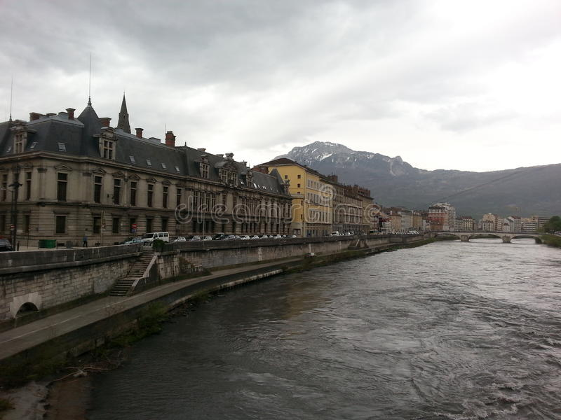 Grenoble royalty free stock images