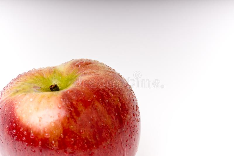 Look at the apple royalty free stock photo