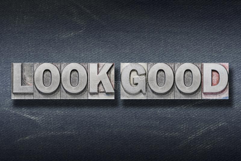 Look good den royalty free stock images