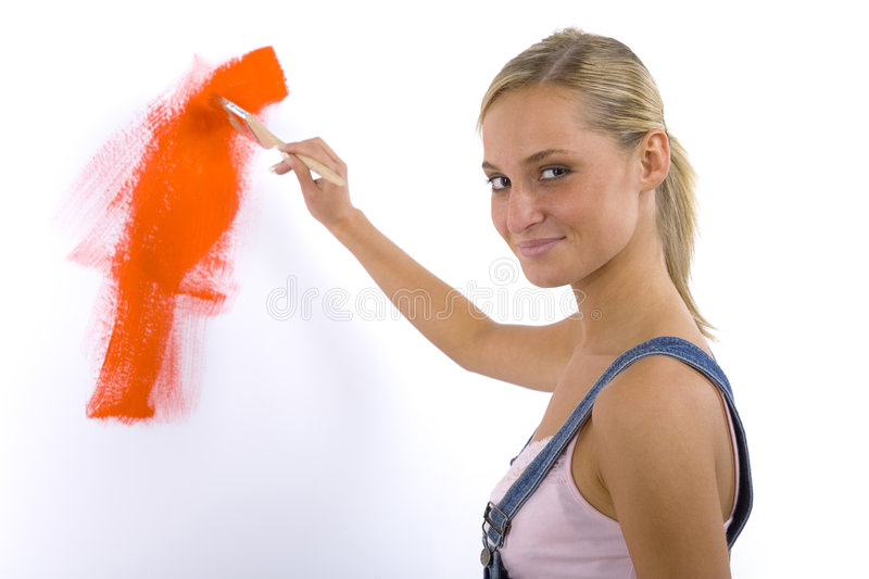 Look! I'm painting stock images